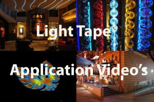 Light Tape Applications Video's