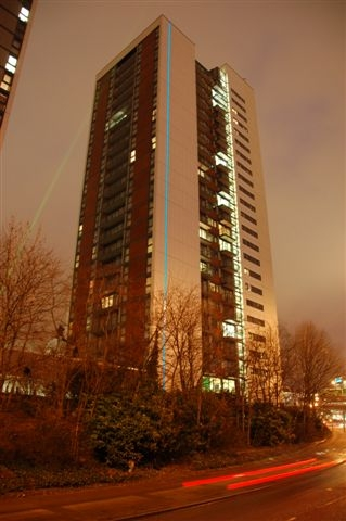 Light Tape® on the Elektron Tower, Barratt's latest development in London Docklands