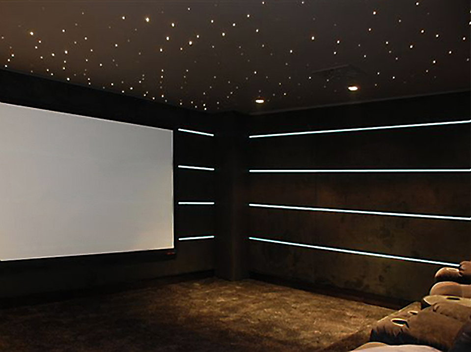 home theater floor lighting. if you have or are planning to a home cinema installed light tape strips can be used as an alternativecomplementary lighting solution that is theater floor
