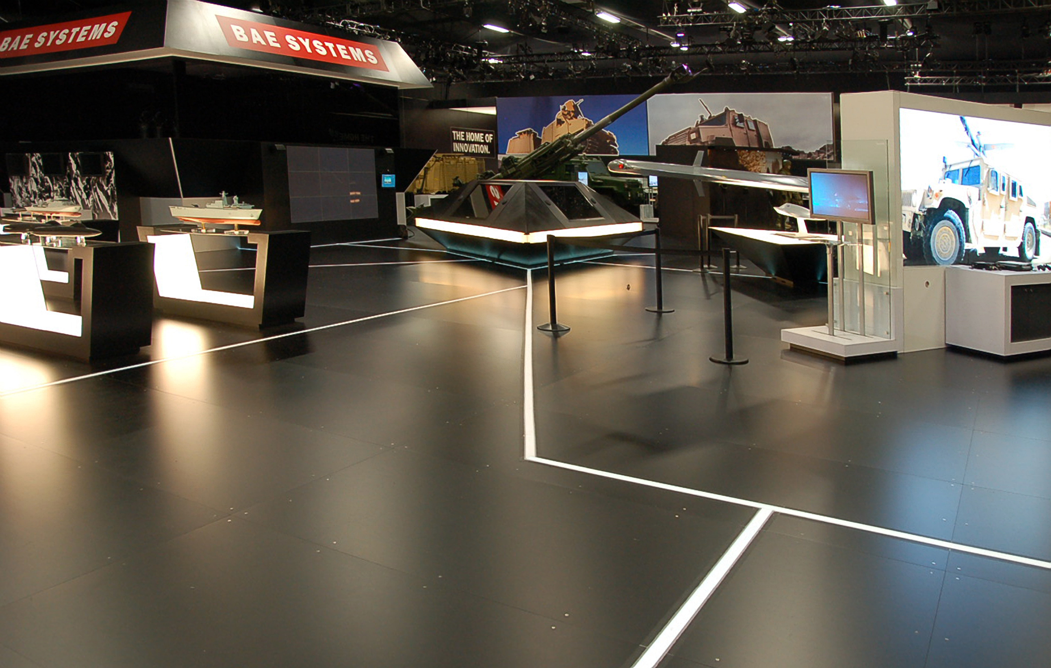 Light tape takes off on bae systems stand at farnborough 2010 once aloadofball Images