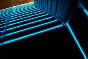 LumaGrip on Boujis Stairs