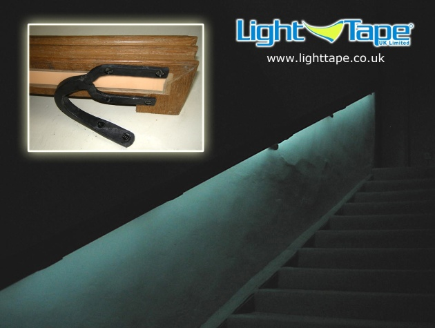 Nunnington Hall Emergency Exit Safety Egress Lighting using Light Tape®