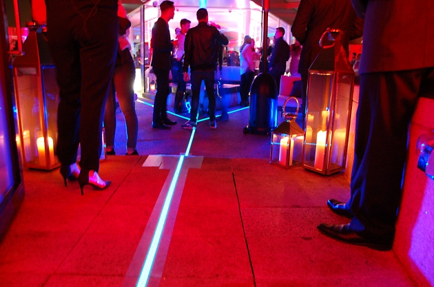 Light Tape outdoor floor lighting Samsung Launch