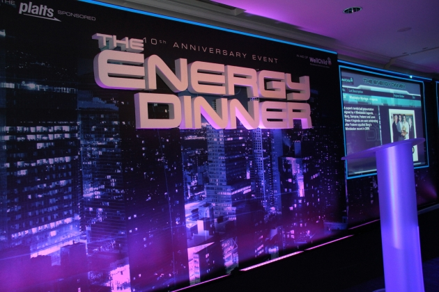 Light Tape Stage at Platts Energy Dinner