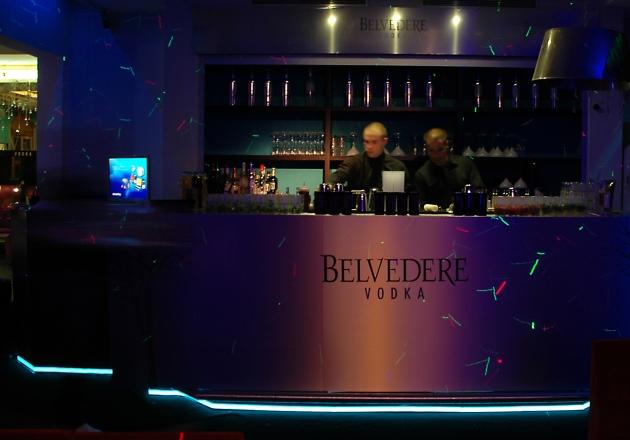 Belvedere Vodka Event Bar Cannes