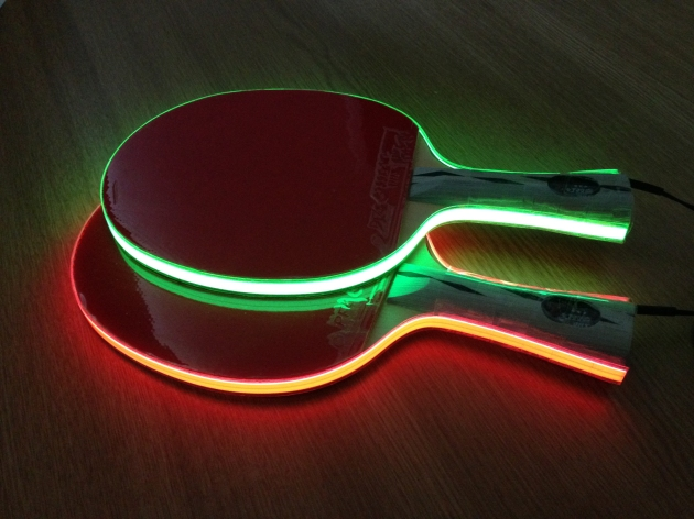 Light Tape Table Tennis Bats