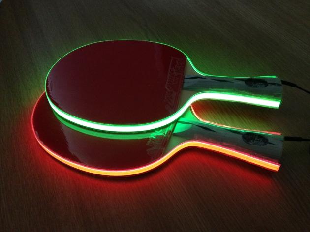 Light Tape Table Tennis Bats