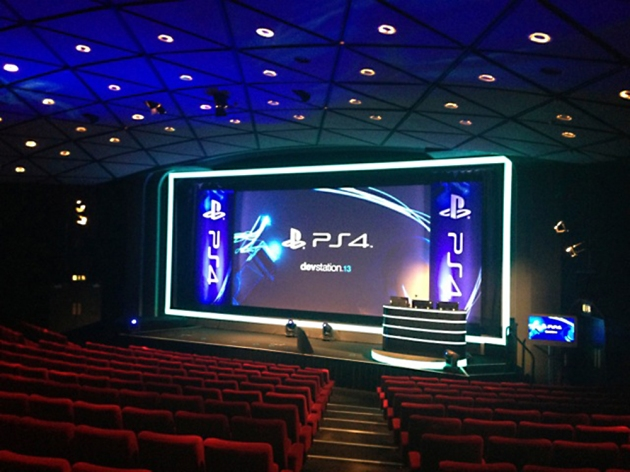 Sony PS4 Screen and Lectern