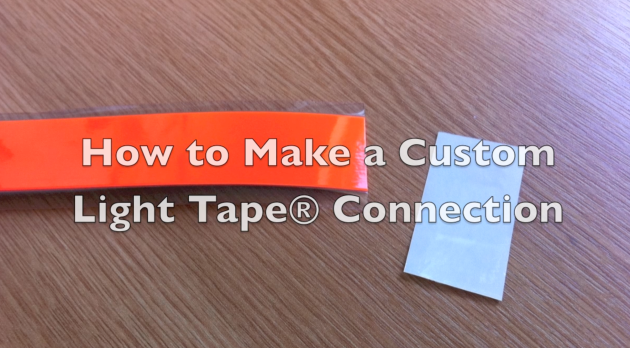 How to make a custom Light Tape connection