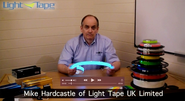 Light Tape Video